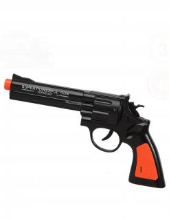 Überzeugender Revolver mit Sound Spielzeug-Pistole bunt