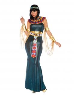Ägyptische Herrscherin Damenkostüm Karnevalskostüm bunt