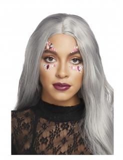 Strass-Steine für das Gesicht Make-up rosa