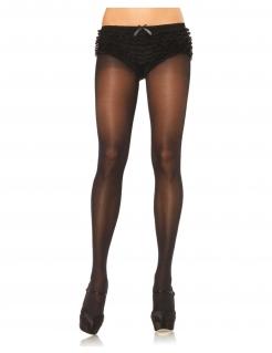 Feinstrumpfhose für Damen durchscheinend Accessoire schwarz