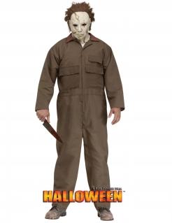 Michael Myers Kostüm für Halloween khaki