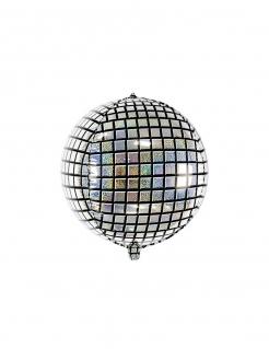 Disco-Ballon Discokugel Partydeko 40 cm