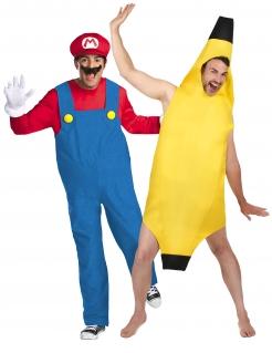 Super Mario™ Paarkostüm Mario Kart™ für Erwachsene
