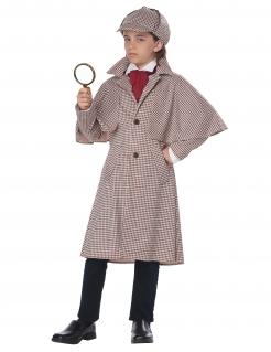 Detektiv Sherlock Kinder-Kostüm