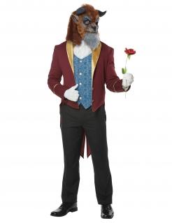 Biest-Kostüm Fasching-Kostüm für Herren blau-rot-gold