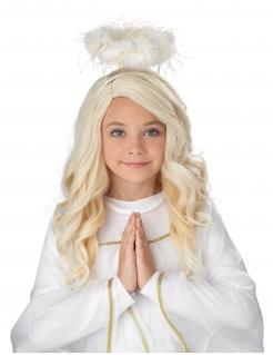 Perücke für Mädchen Engel blond
