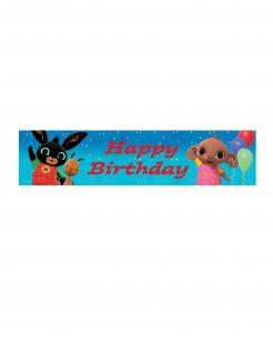 Bing™ Geburtstags-Banner für Kinder bunt 270 x 20 cm