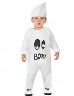 Gespenster-Kostüm für Kleinkinder Halloween-Babykostüm weiss
