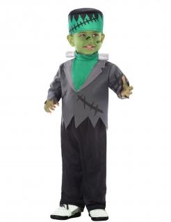 Monster-Kostüm für Kleinkinder Halloween-Babykostüm schwarz-grau-grün