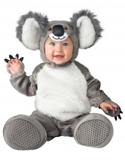 Baby-Koala-Kostüm grau Tierkostüm für Babys