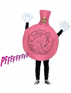 Pupskissen-Kostüm für Herren Faschingskostüm rosa-schwarz