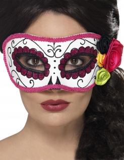 Día de los Muertos-Augenmaske Halloween-Maske bunt