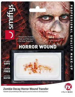 Zombie-Wunde falsche Wunde Halloween Make-up rot