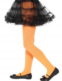 Kinderstrumpfhose Accessoire für Halloween orange