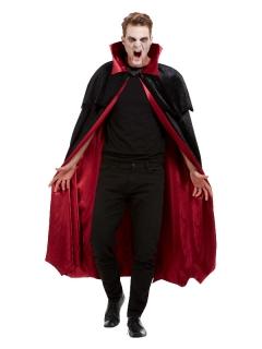 Vampir-Umhang Halloween-Accessoire schwarz-rot