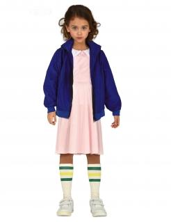 Junge Telepathin Mädchenkostüm Serien-Kostüm rosa-blau