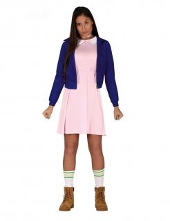 Junge Telepathin Damenkostüm Halloweenkostüm rosa-blau