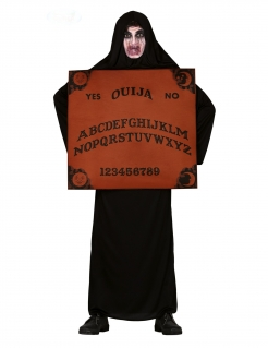 Ouija-Kostüm Geist Halloween-Kostüm schwarz-braun