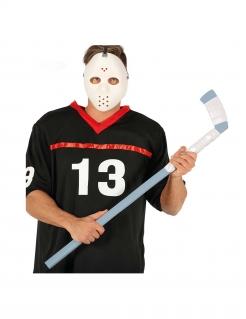 Eishockey-Schläger Spielzeug-Hockeyschläger grau-weiss 90cm