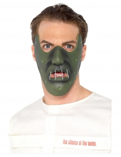 Hannibal Lecter™-Maske für Herren Halloween-Maske grün