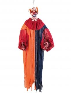 Clown-Hängedeko Halloween-Deko bunt 165 cm
