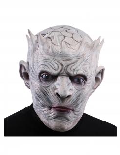 Eis-König-Maske für Herren Halloween-Maske grau