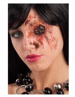 Augenhöhle Horror-Wunde Halloween-Make-up rot-braun