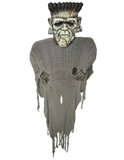 Monster-Dekoration Halloween-Deko grau 190 cm