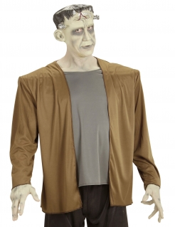 Verrücktes Monster-Kostüm für Herren Halloweenkostüm braun