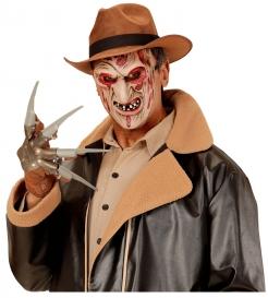 Killer-Maske für Kinder Halloweenmaske beige-rot