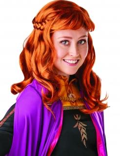 Anna™-Perücke für Damen Frozen 2™ orange