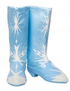 Elsa Kinderstiefel Frozen 2™ Kostümzubehör blau-weiss