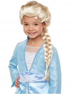 Elsa-Perücke für Mädchen Frozen 2™ Karnevals-Accessoire blond