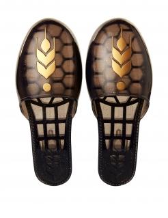Anna-Schuhe Frozen 2™ Faschings-Accessoire braun-gold