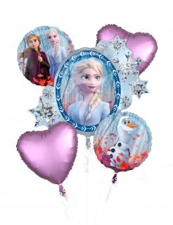 Frozen 2™-Luftballonstrauß 5-teilig bunt