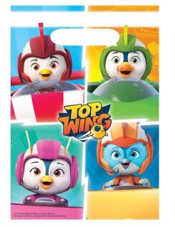 Top Wings™-Geschenkbeutel Partydeko 8 Stück bunt 23x16 cm