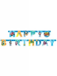 Top Wing™-Girlande Happy Birthday Partydeko bunt 218x12 cm