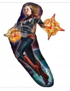 Captain Marvel™-Aluminiumballon bunt 68 x 93 cm