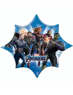 Avengers Endgame™-Luftballon in Sternform Marvel Partydeko bunt 88x73 cm