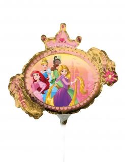 Disney Prinzessin™-Luftballon kleiner Alu-Ballon Partydeko bunt 23 cm