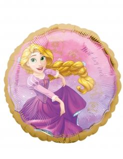 Rapunzel-Luftballon Disney™ Partydeko violett-gelb-gold 43 cm