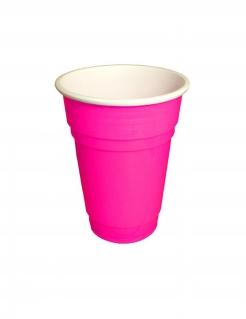 Partybecher aus Kunststoff 20 Stück pink 250 ml