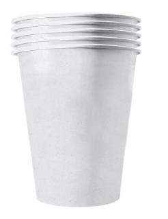 Amerikanische Trinkbecher gross Partydeko 20 Stück weiss 530 ml