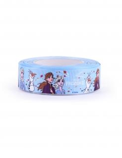 Frozen 2™-Stoffband hellblau-bunt 20 m x 4 cm