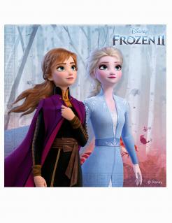 Frozen 2™ Party-Servietten für Mädchen 20 Stück bunt 33 x 33 cm