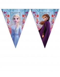 Frozen 2™-Girlande für Mädchen bunt 230 x 25 cm