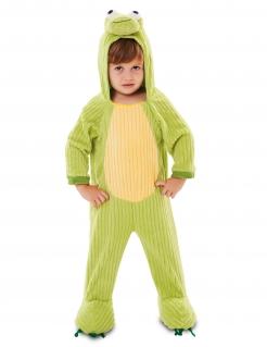 Kinder-Frosch-Kostüm lustiges Karneval-Kostüm für Kinder grün