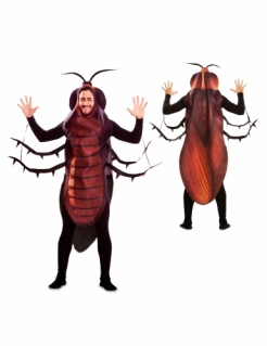 Lustige Kakerlake Herren-Kostüm schwarz-braun