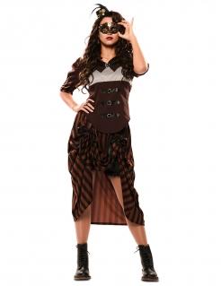 Steampunk-Kostüm für Damen Damen-Karneval-Kostüm