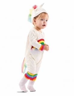 Einhorn-Kostüm für Babys und Kleinkinder Kleinkinder-Karneval-Kostüm bunt